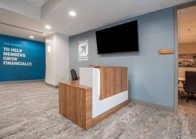 TVA Employee Credit Union Lobby