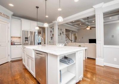 Sleek kitchen
